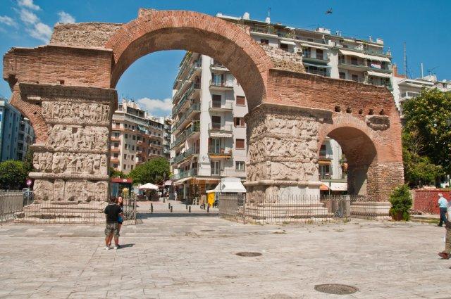 Арка и гробница Галерия, Салоники
