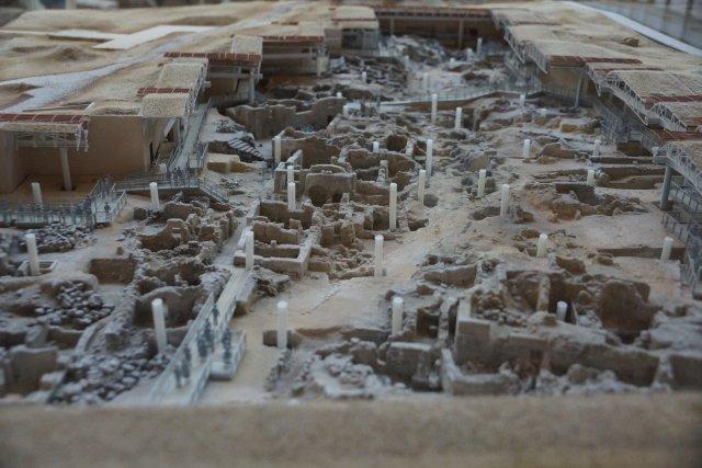 Археологический комплекс Акротири, Санторини