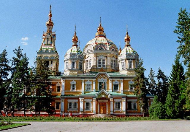 Вознесенский собор, Алматы