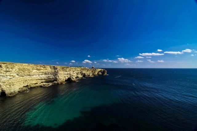 Живописные скалы Атлеша, Крым, Россия