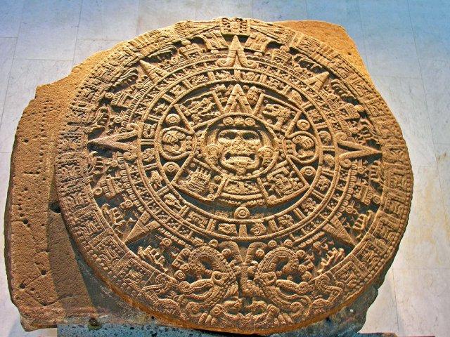 Календарь Ацтеков, Мексика