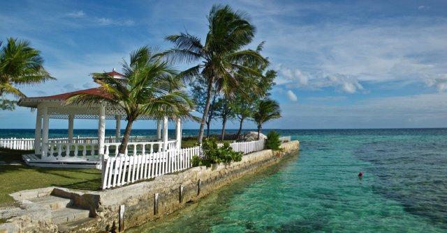 Свадебная беседка на Багамах