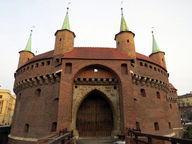 Барбакан, Краков