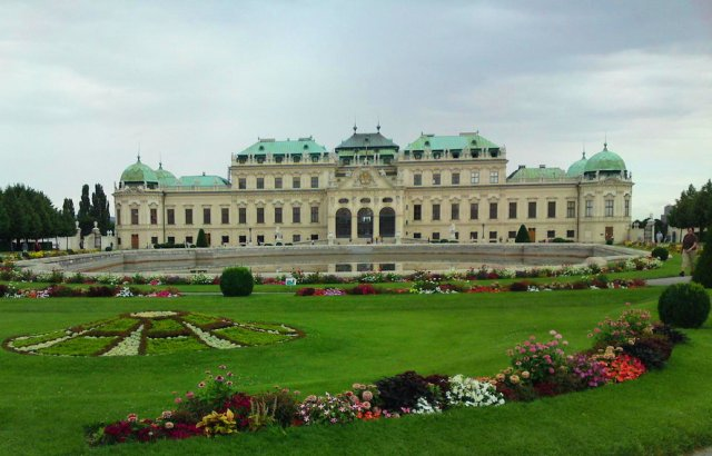 Дворцовый комплекс Бельведер, Вена