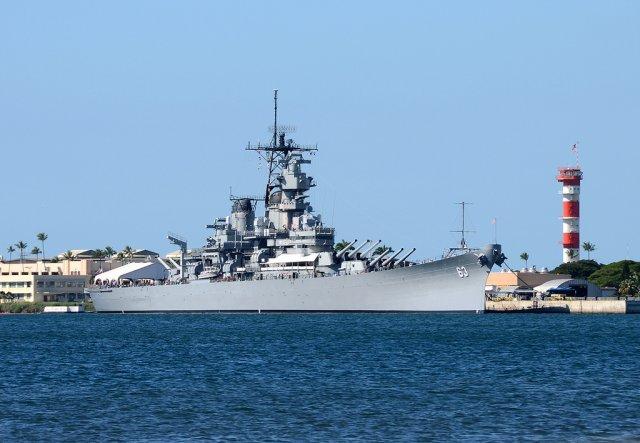 Корабль-музей «Миссури», Гонолулу