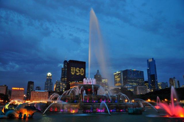 Букингемский фонтан, Чикаго