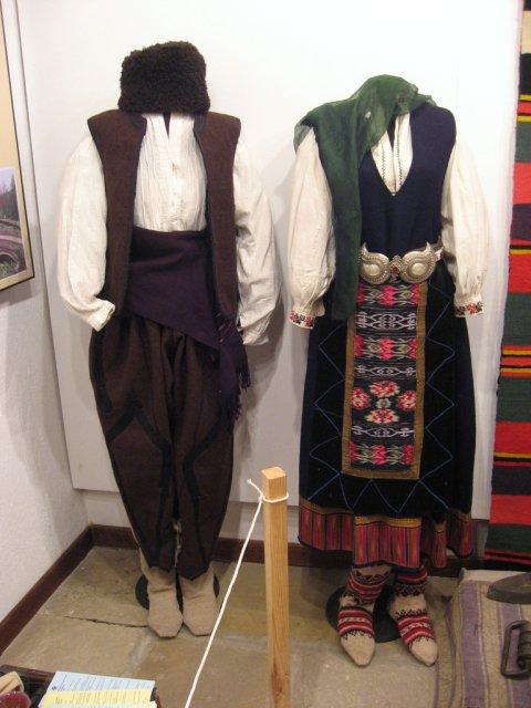Национальный болгарский костюм