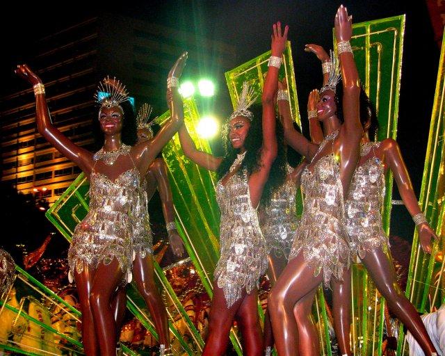 Бразильский карнавал, Рио-де-Жанейро