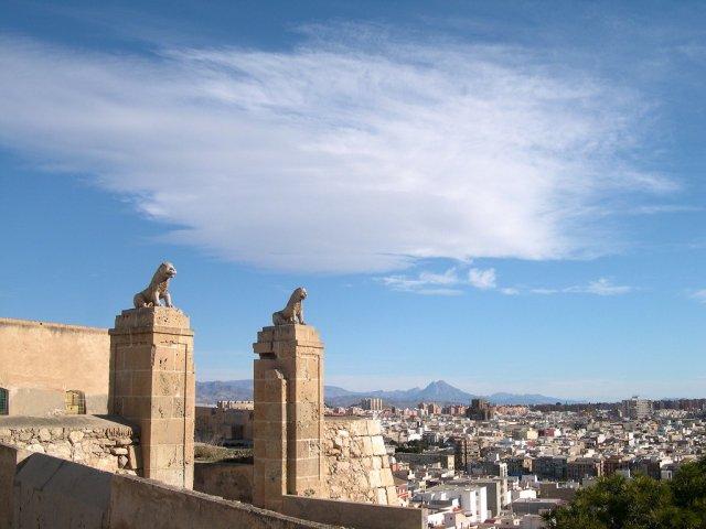 Ворота замка Сан-Фернандо, Аликанте