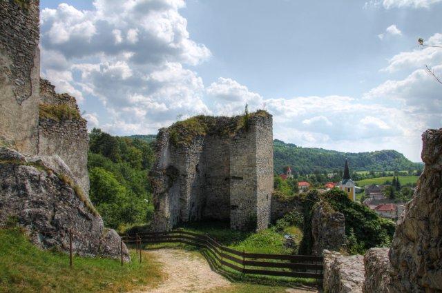 Замок Бецков, Словакия