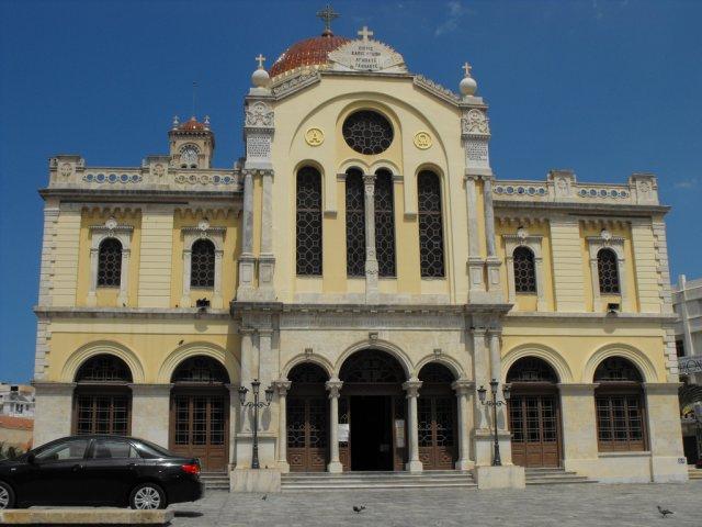 Собор Святого Минаса, Ираклион