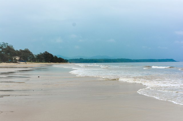 Пляж Кавелоссим, Гоа