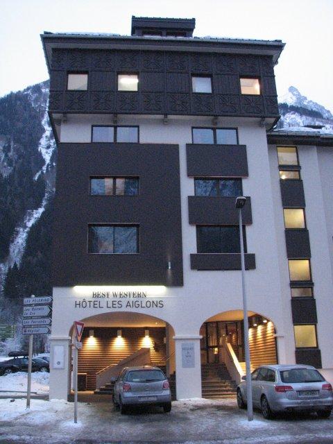 Отель Les Aiglons 3*, Шамони