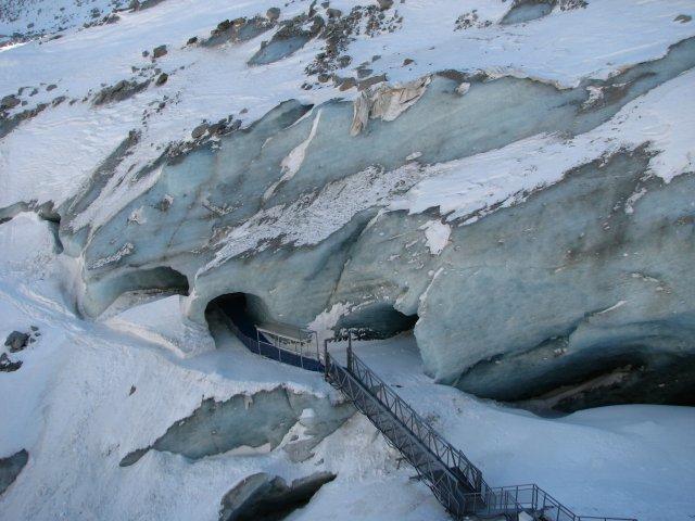 Пещера ледника, Шамони