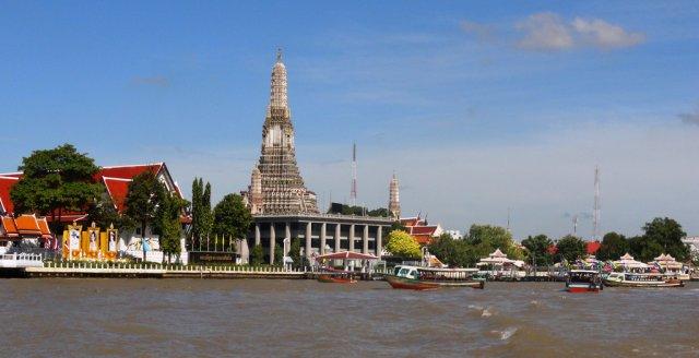 Круиз по реке Чаупхрая, Бангкок