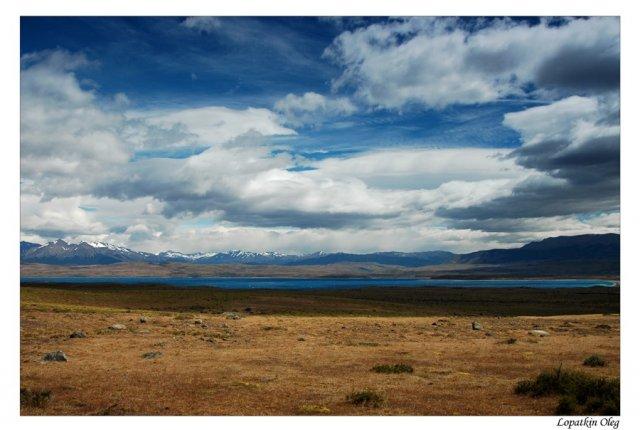 Озеро Sarmiento De Gamboa