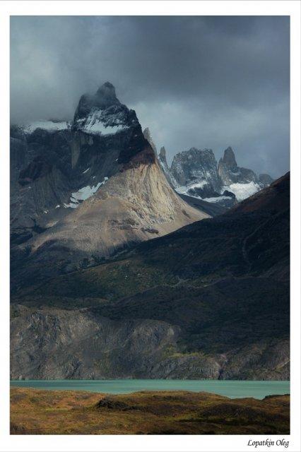 Вид на Cuernos Del Paine