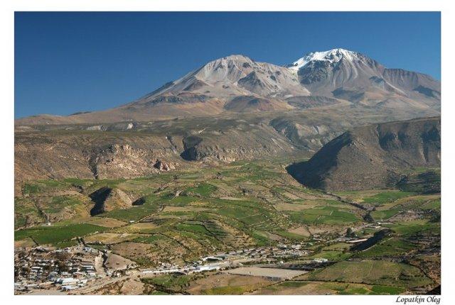 Городок Путре, высота 4000 м