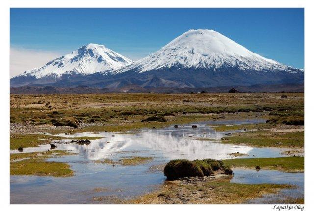 Вид на вершину Паринакота