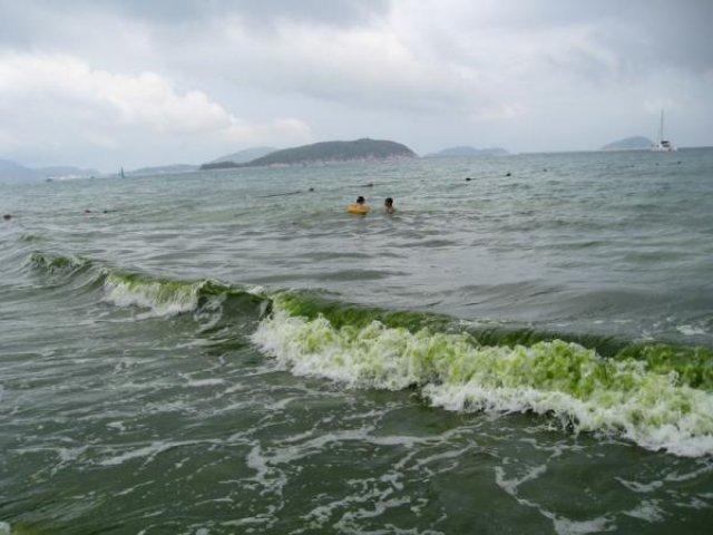 Море, бухта Ялунвань