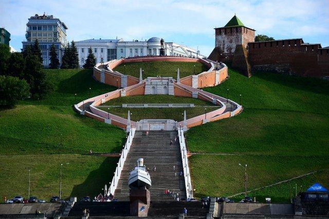 Чкаловская лестница, Нижний Новогород