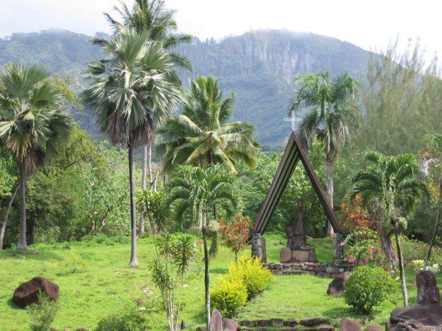 Церковь на Таити, Французская Полинезия