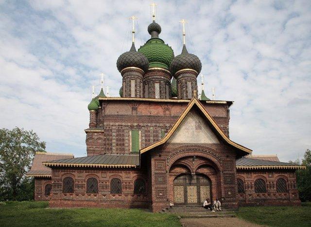 Церковь Иоанна Предтечи, Ярославль