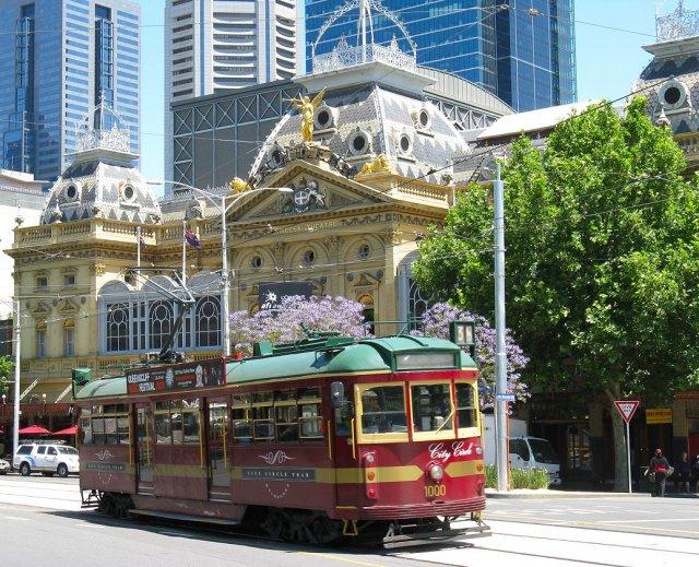 Бесплатный туристический трамвай, Мельбурн