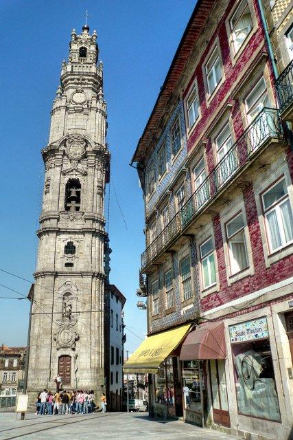 Башня Клеригуш, Порту