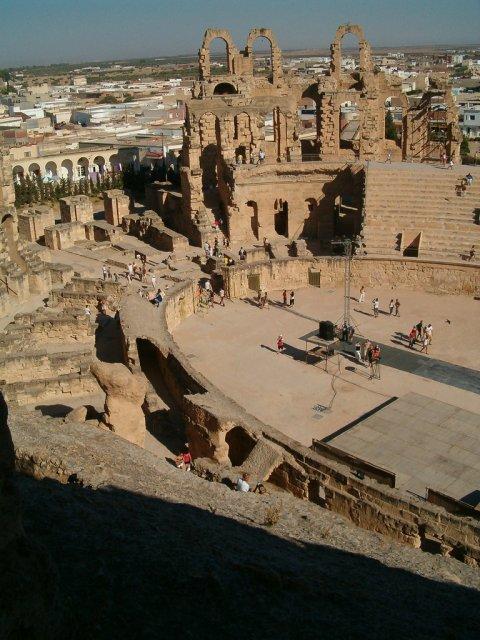 Амфитеатр города Эль-Джем, Тунис