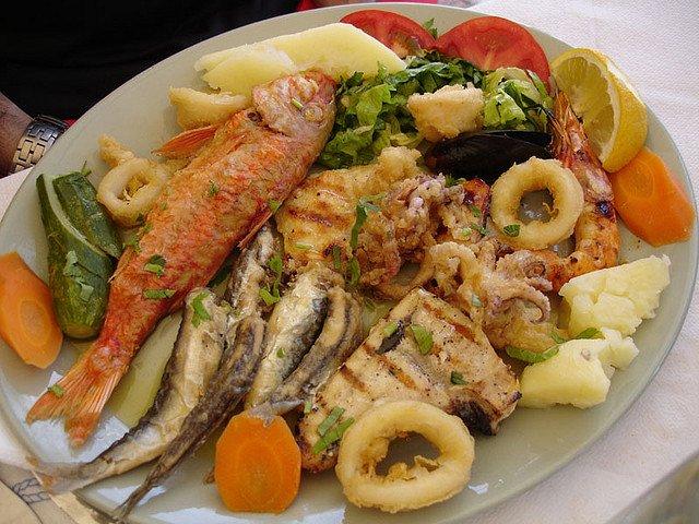 Критская кухня, Греция