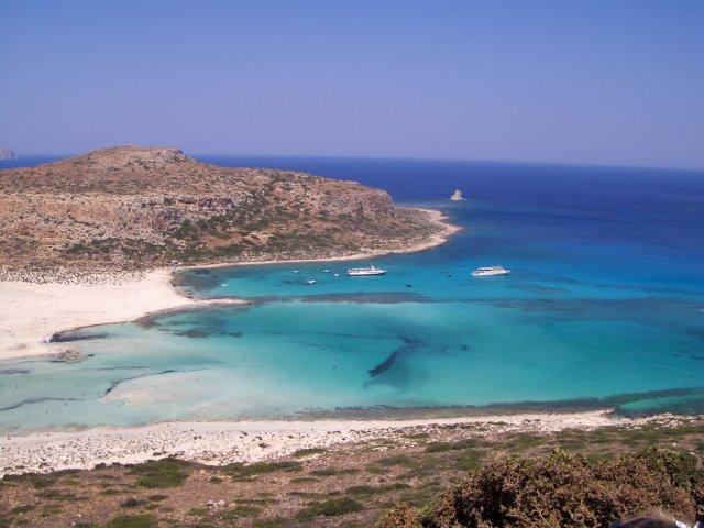 Уютная бухта на Крите, Греция