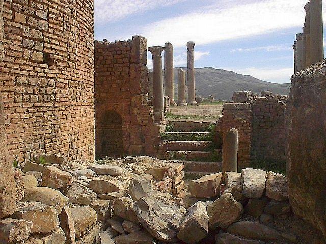 Древний город Джемила, Алжир
