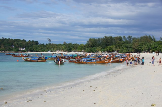 Пляж Паттайя - место прибытия на Ко Липе