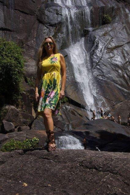 Водопад «Телага Туджук», Лангкави
