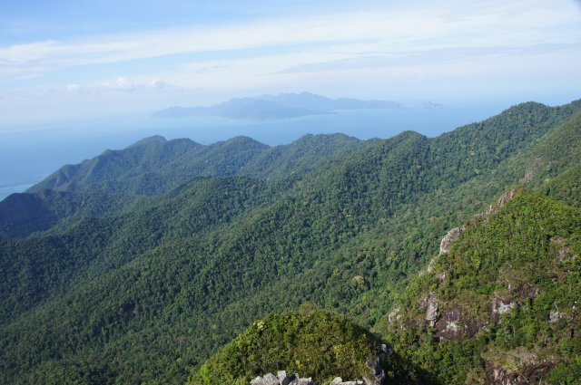 Горы Лангкави в центре острова