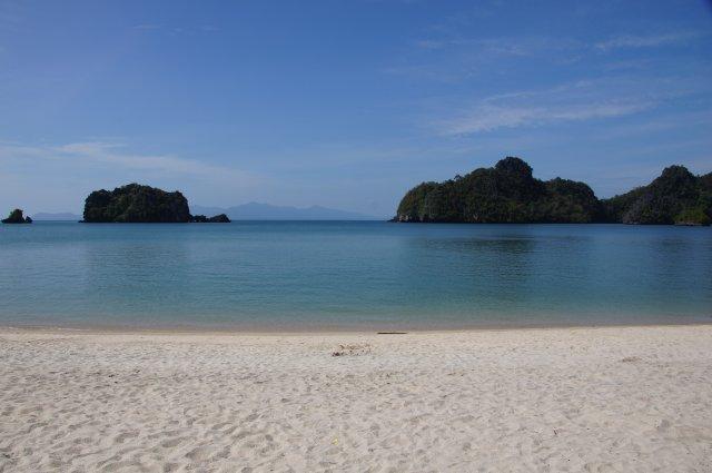 Пляж на севере Лангкави