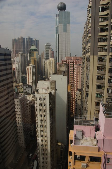 Вид из номера отеля Island Pacific 4*, Гонконг