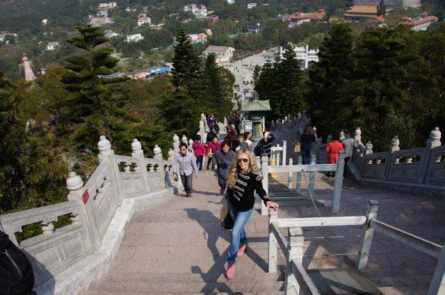 Лестница к статуе Большого Будды, Гонконг