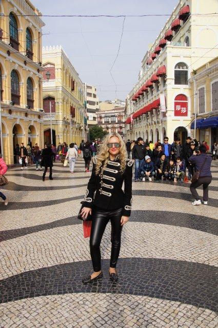 Улицы Макао напоминают уменьшенный Лиссабон