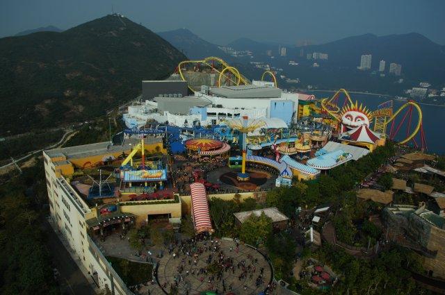 Аттракционы Океанского парка, Гонконг