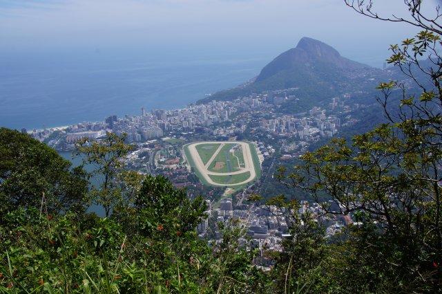 Вид с горы Корковаду, Рио