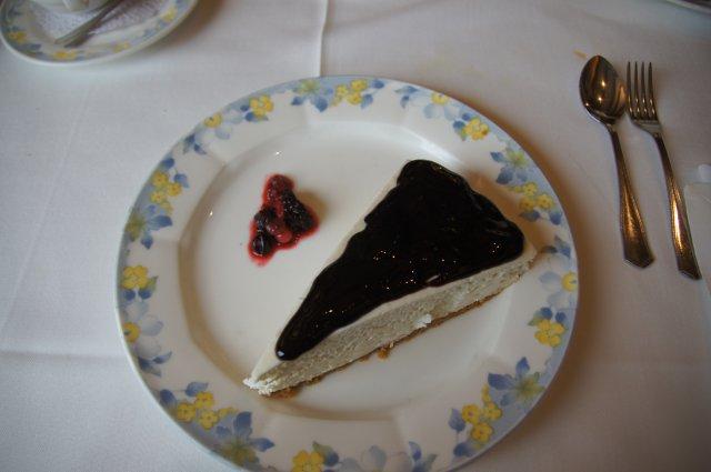 Десерт чизкейк (tarta de queso)