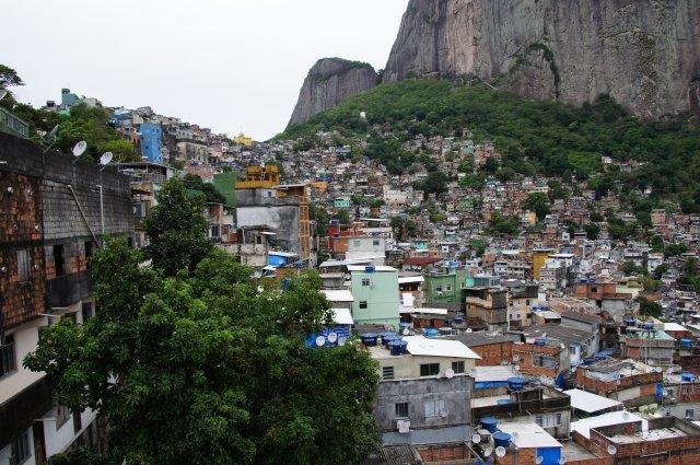 Фавелы в Рио