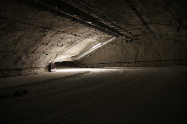 Подземная лыжная арена в Варкаусе