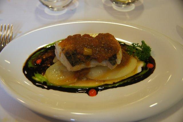 Рыбное блюдо наваррской кухни