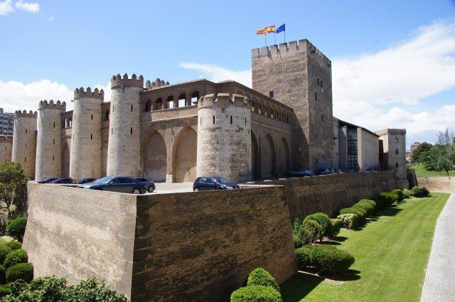 Дворец Альхаферия, Сарагоса