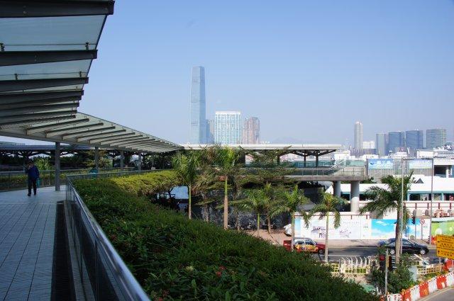 Пешеходные мосты (переходы) в Гонконге