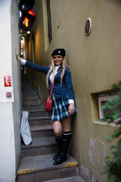 Самая узкая улица Праги - Чертовка