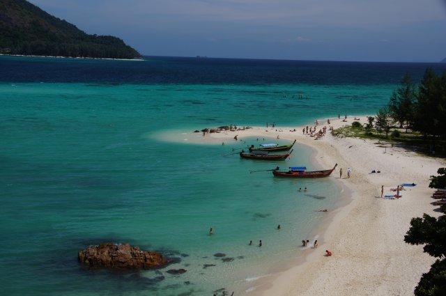 Север острова - пляж Санрайз бич, Ко Липе